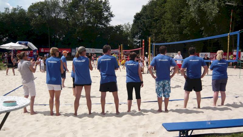 Beachvolleyball Betriebssportgruppe