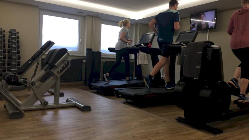 Firmeneigenes Fitnessstudio