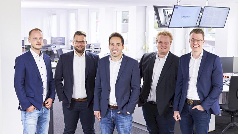 Vertriebsteam der Hövermann IT-Gruppe