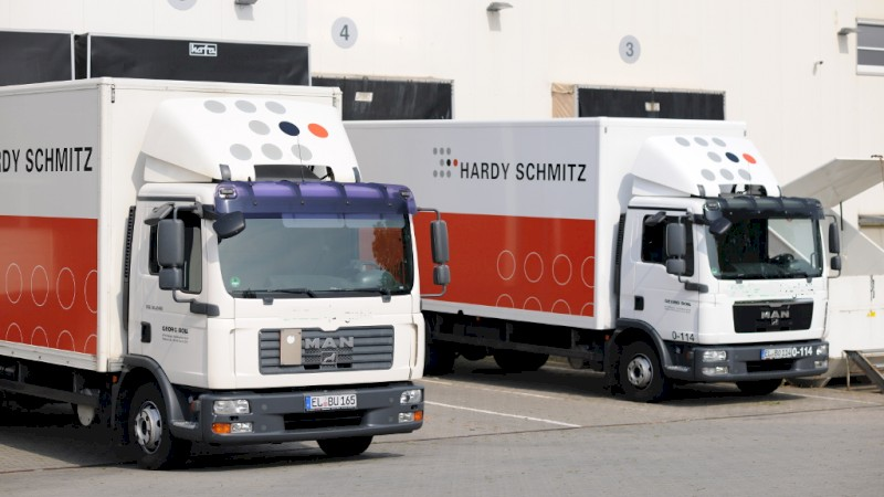 Logistik bei Hardy Schmitz