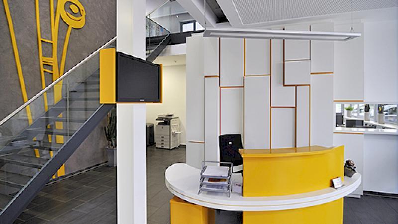 Empfang der Borgel Elementbau GmbH
