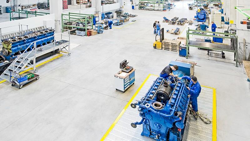 Blick in die Fertigung der August Storm GmbH & Co. KG