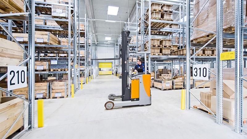 Logistik der August Storm GmbH & Co. KG