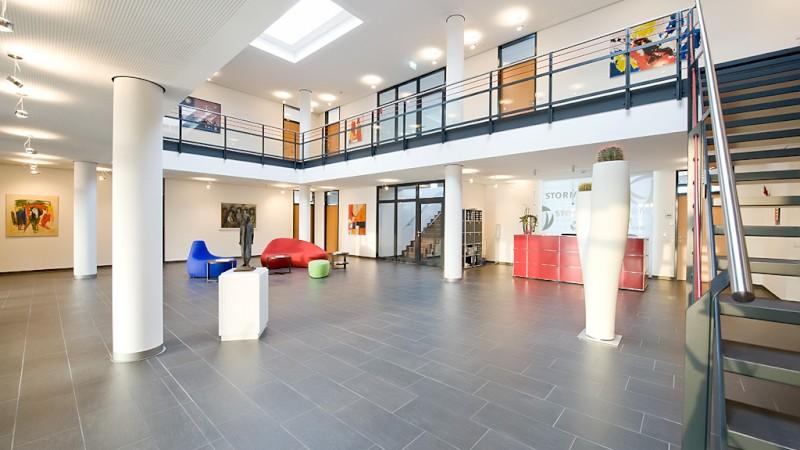 Empfangsbereich der August Storm GmbH & Co. KG