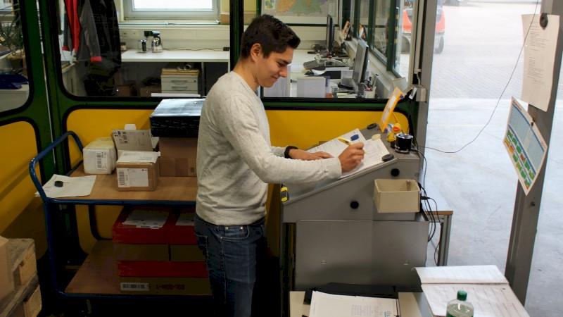 Arbeiten in der Logistik