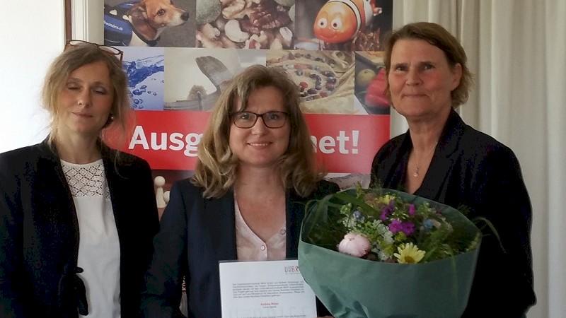 Verleihung Unternehmerinnenbrief NRW