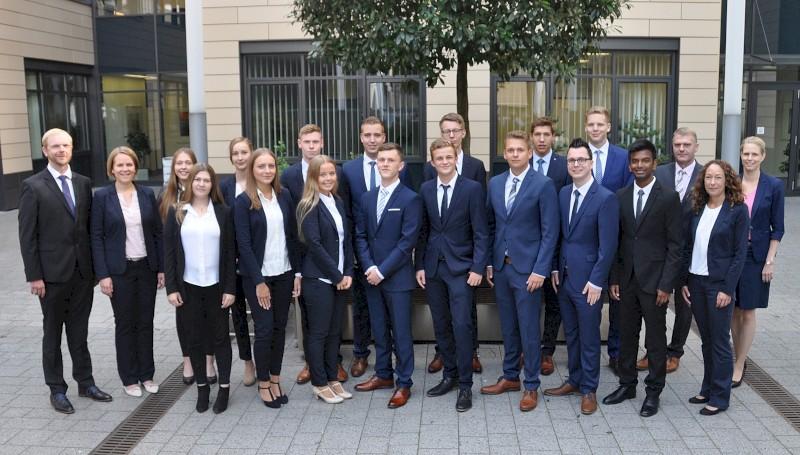 Ausbildungsjahrgang 2018 VR-Bank Kreis Steinfurt eG