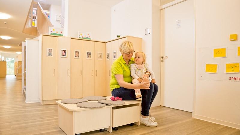 Kinderland-Ausstattung: funktional + modern