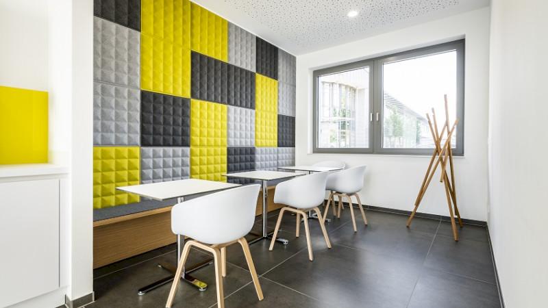 Moderne Pausenräume im SAERTEX-Style
