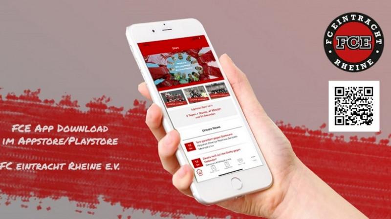 Hol' dir die FC Eintracht App