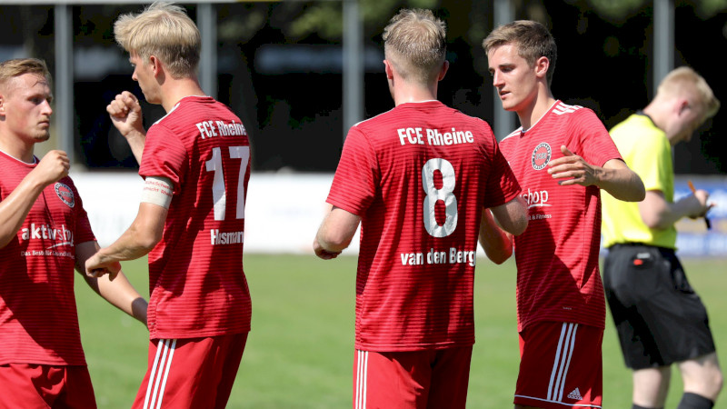 Loyalität im Team des FCE Rheine